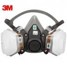 3M 620P防尘防毒面具套装 防雾霾 防甲醛喷漆消防防护面罩